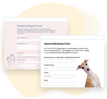 form templates for nonprofits
