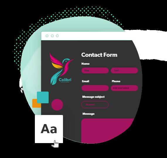 Personnalisez et stylisez vos formulaires de contact en ligne