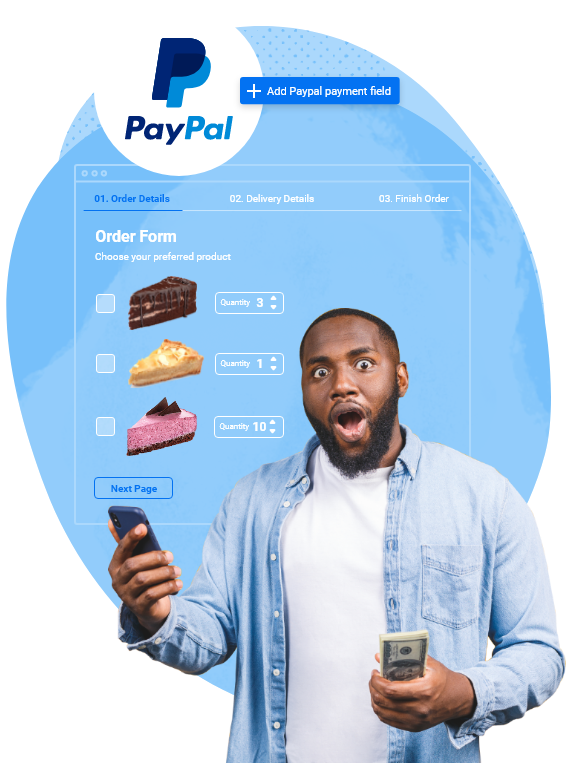 paypal form builder