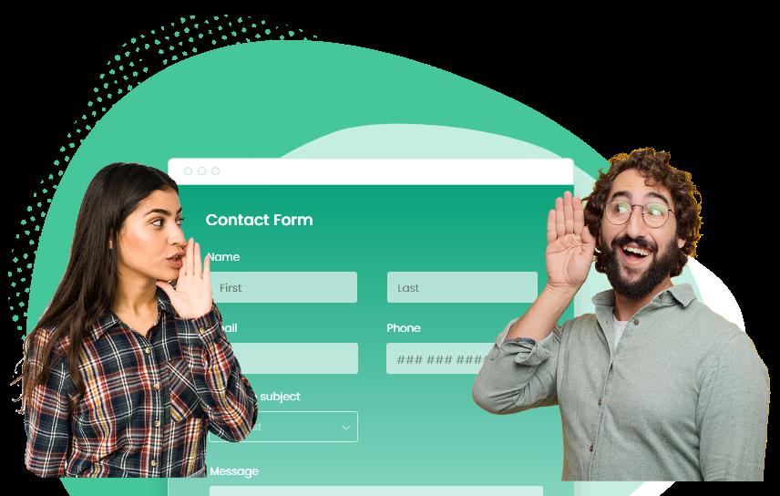 generateur de formulaires de contact
