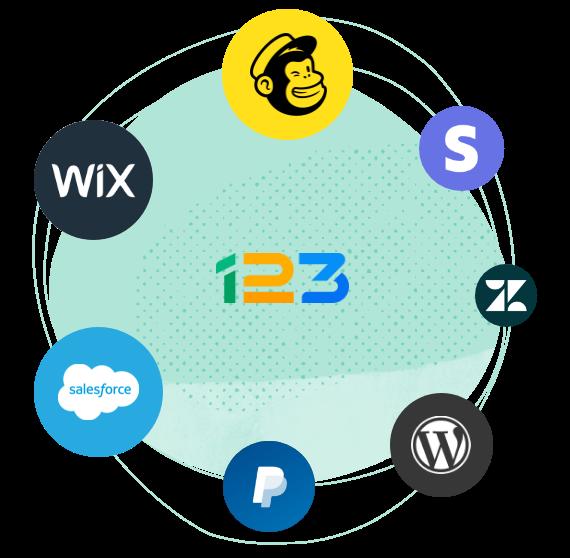 integrez vos formulaires de contact a vos outils preferes avec 123 form builder