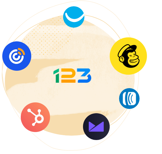 123 form builder email marketing integrationen