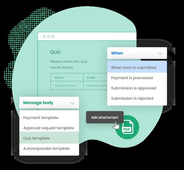 generateur de formulaire de contact avec systemes de notification