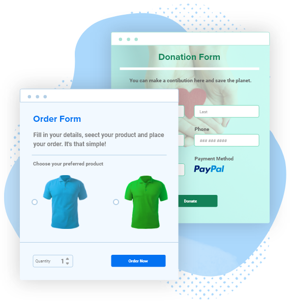 paypal form templates