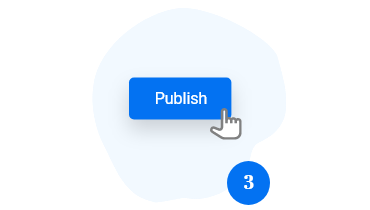 publish form button
