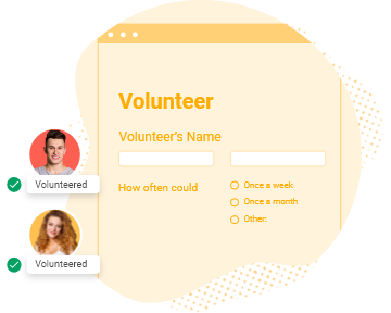sample volunteer recruitment form