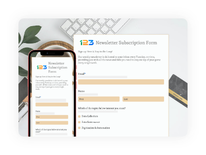 responsive web forms