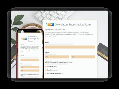 formulaires adaptés aux mobiles