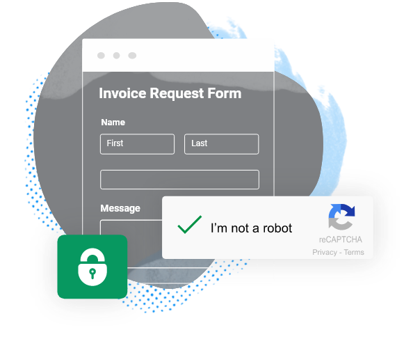 secure invoice request form