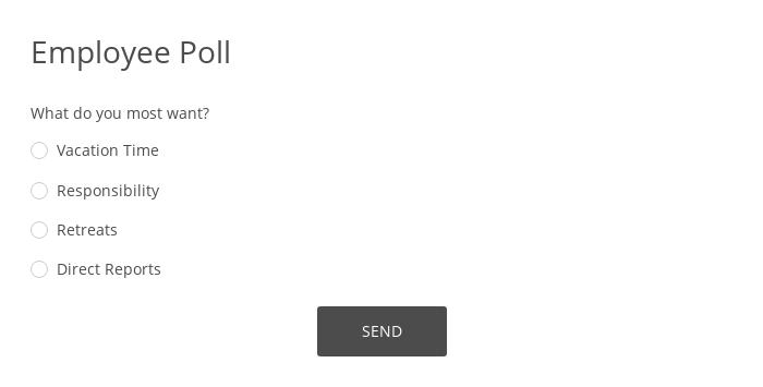 Employee Poll
