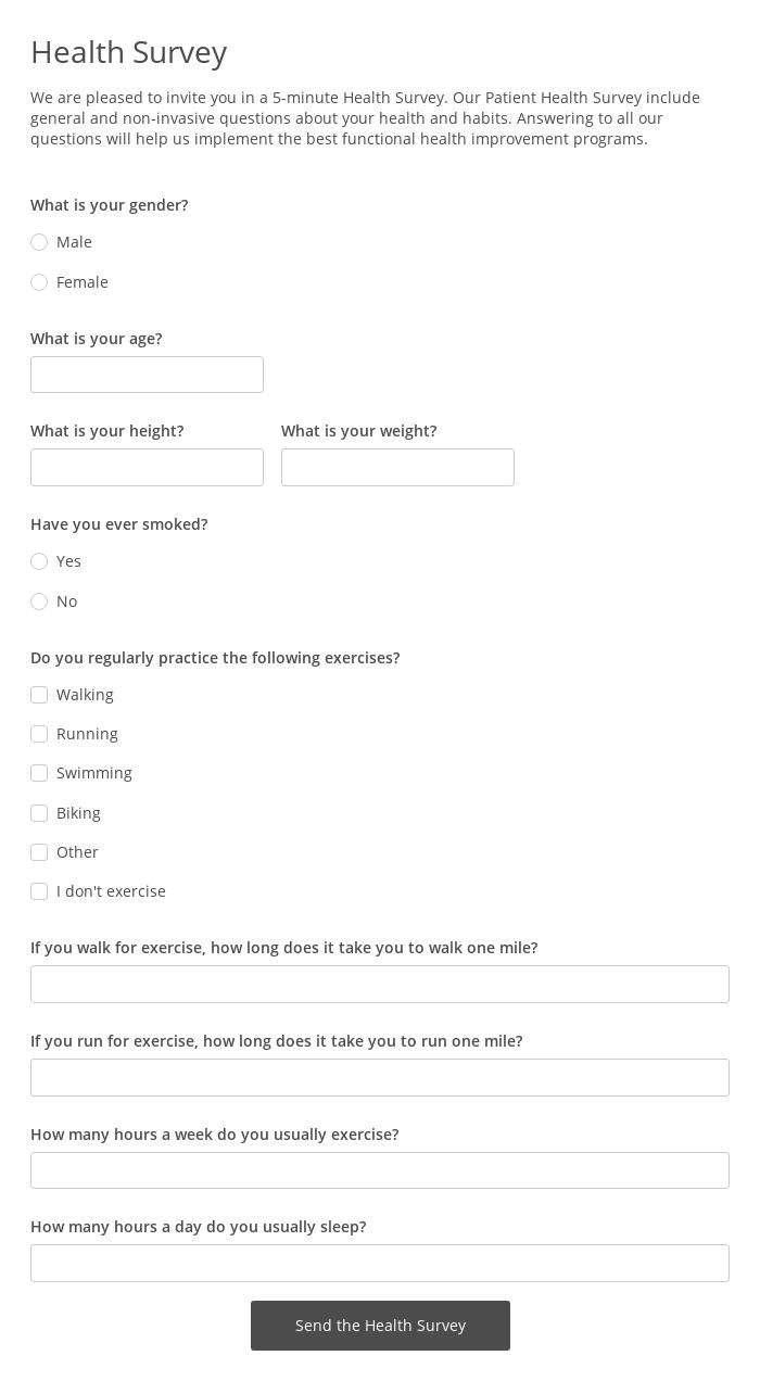 Health Survey