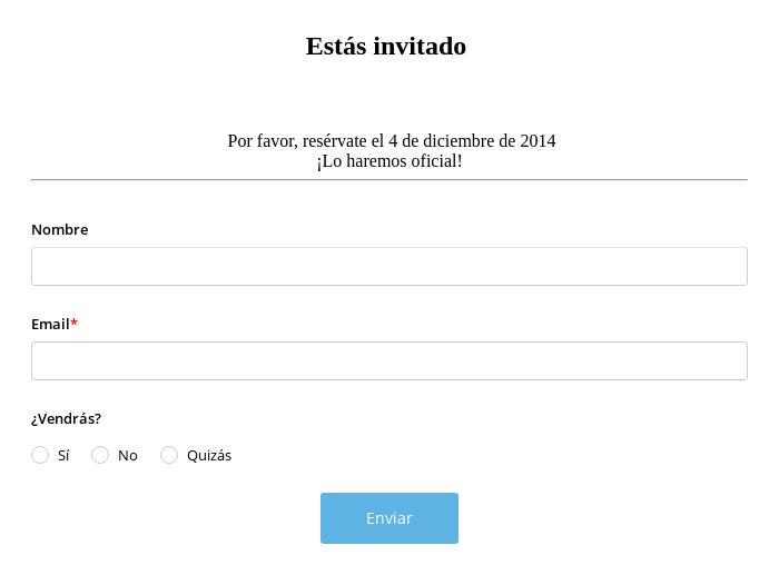 Invitación Online a Boda