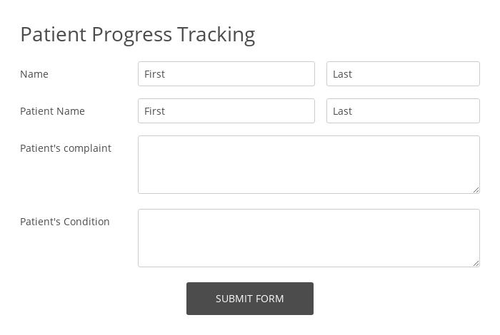 Patient Progress Tracking
