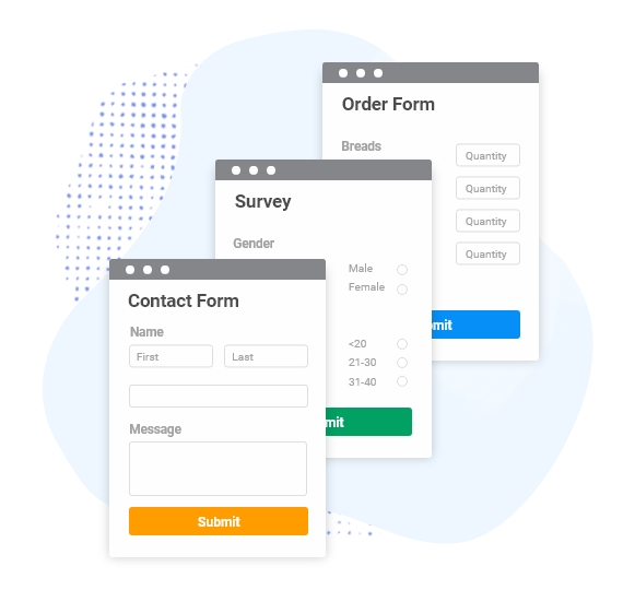 shopify form templates