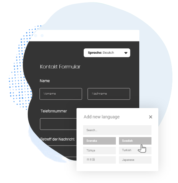 multilingual contact form